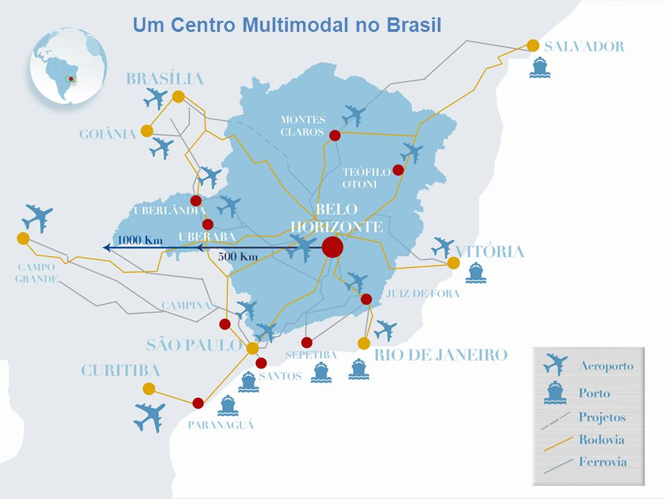 Um Centro Multimodal no Brasil