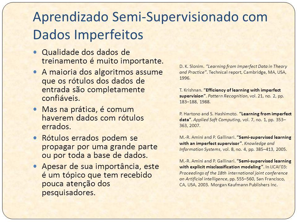 Aprendizado Semi-Supervisionado com Dados Imperfeitos