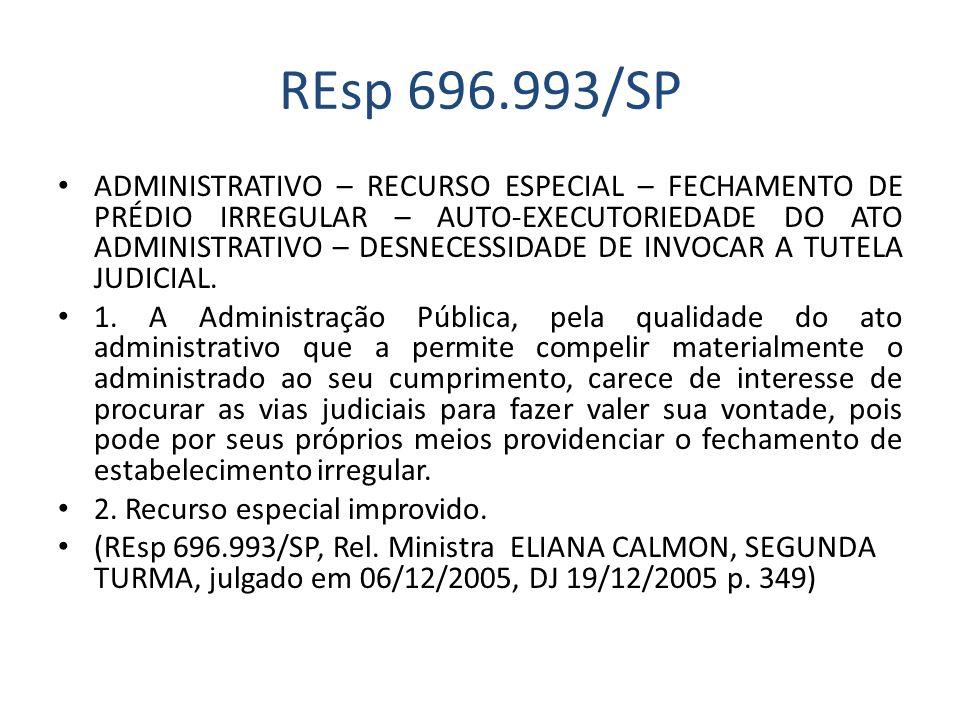 REsp 696.993/SP