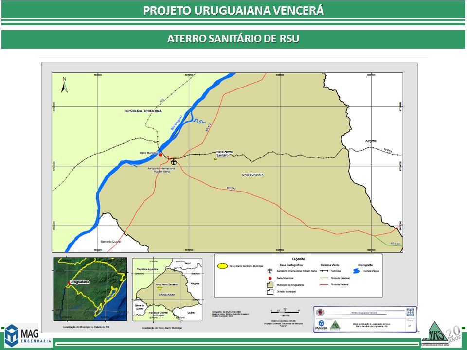 PROJETO URUGUAIANA VENCERÁ aterro sanitário DE rsu