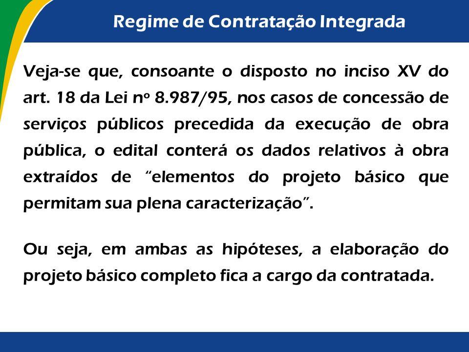 Regime de Contratação Integrada