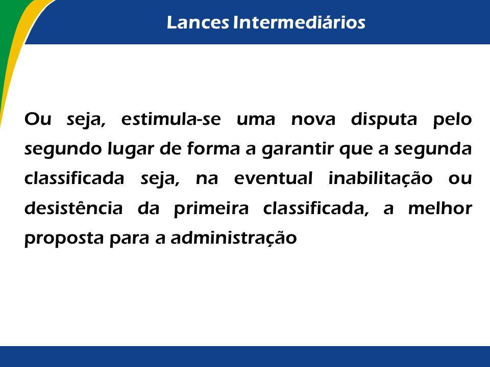 Lances Intermediários