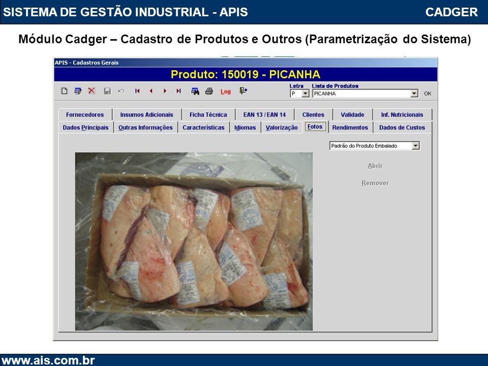 SISTEMA DE GESTÃO INDUSTRIAL - APIS