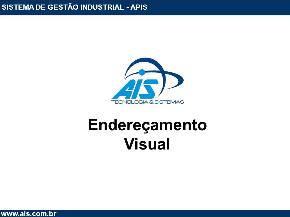 Endereçamento Visual SISTEMA DE GESTÃO INDUSTRIAL - APIS