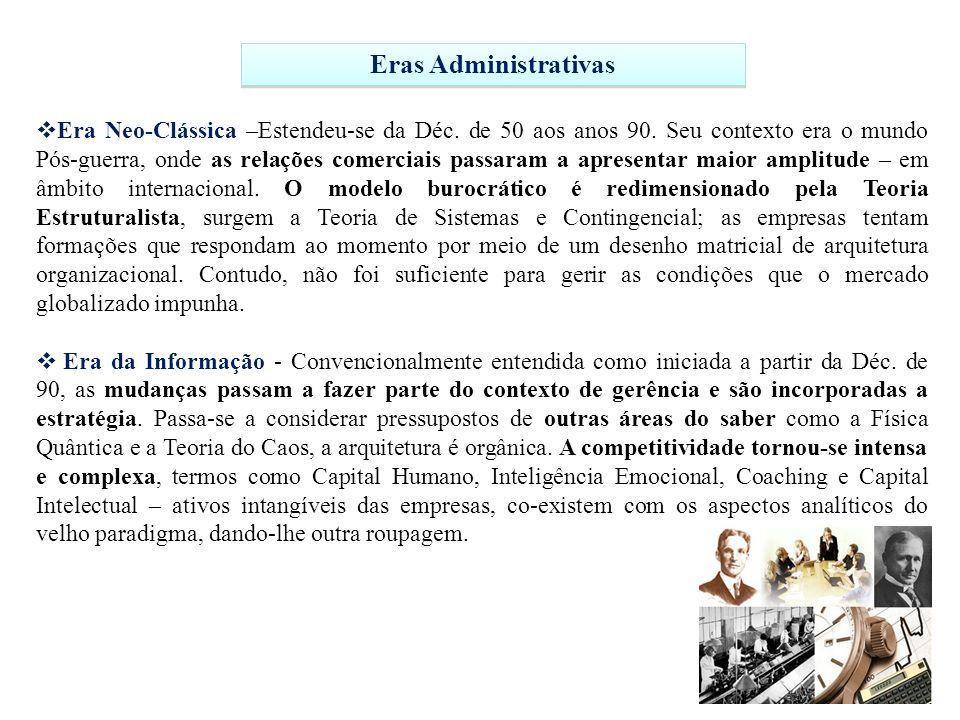 Eras Administrativas