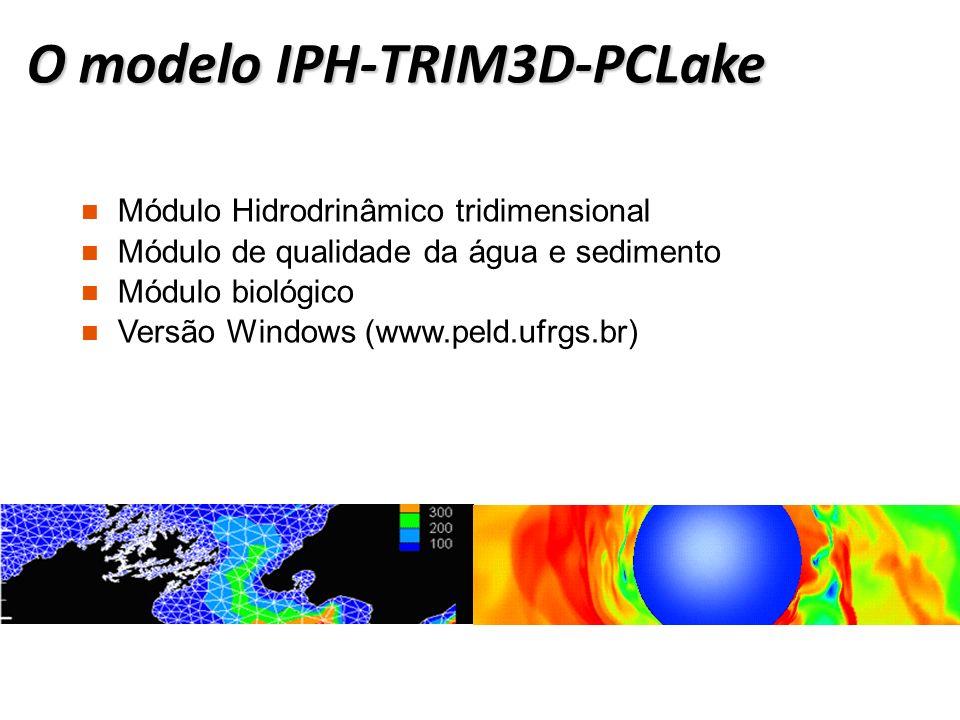O modelo IPH-TRIM3D-PCLake