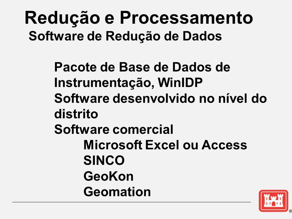 Redução e Processamento