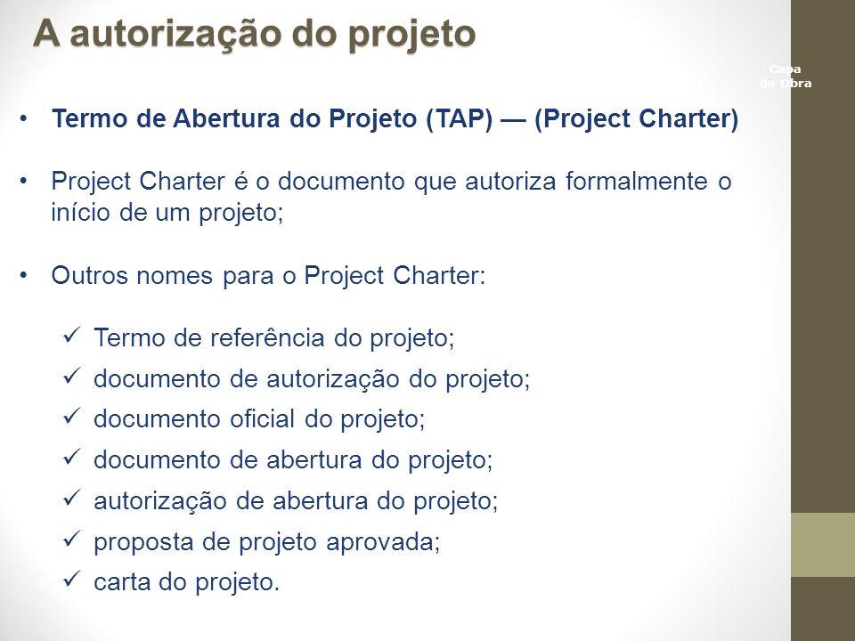 A autorização do projeto