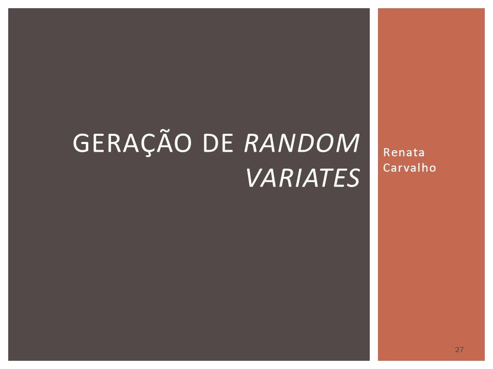 Geração de random variates