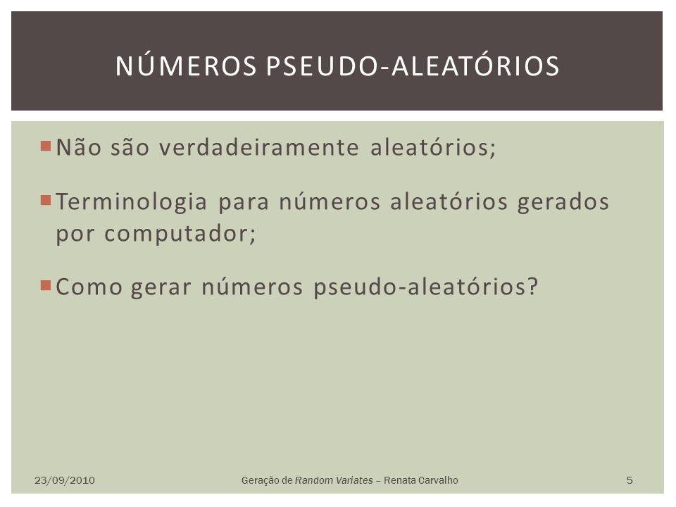 Números pseudo-aleatórios