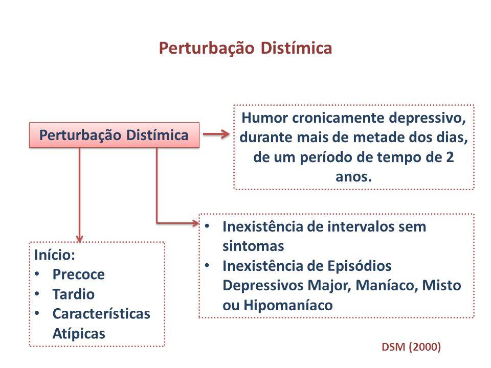 Perturbação Distímica Perturbação Distímica