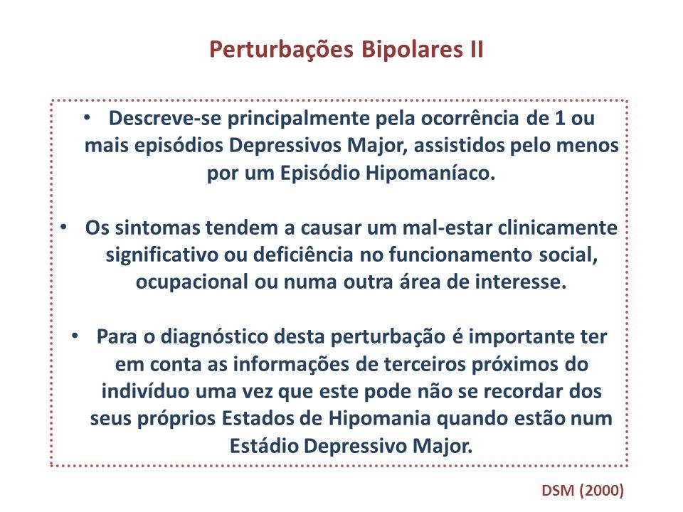 Perturbações Bipolares II