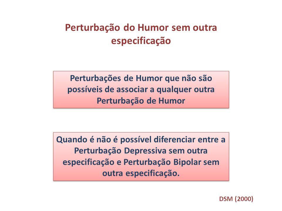 Perturbação do Humor sem outra especificação