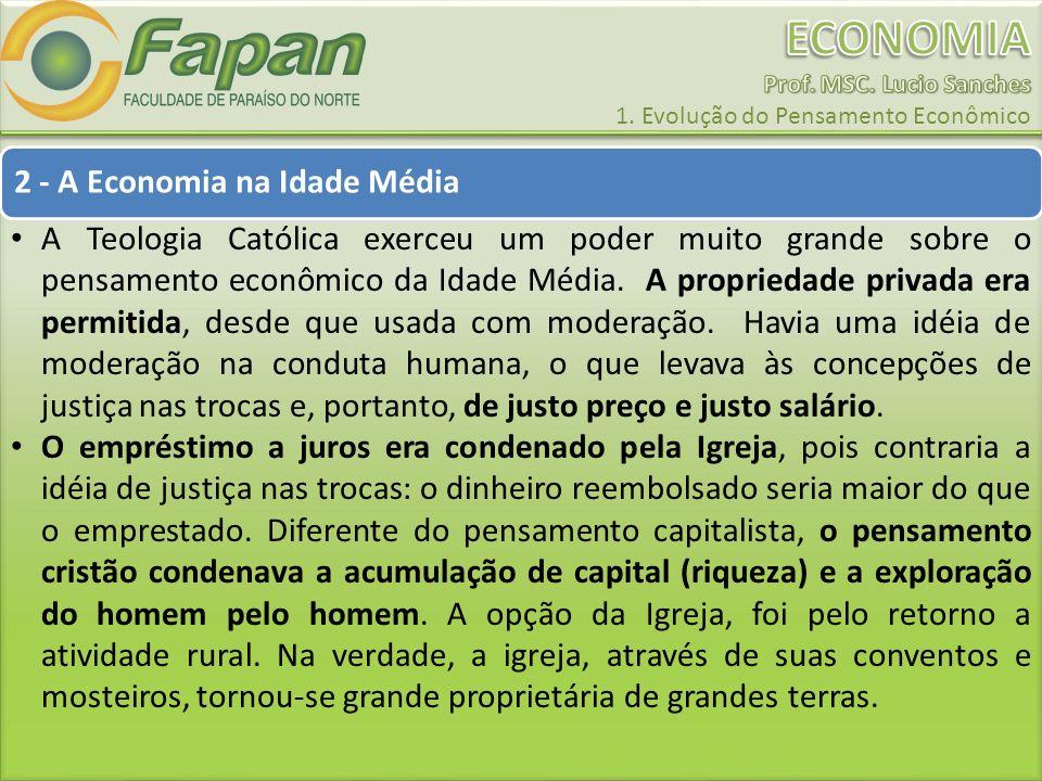 2 - A Economia na Idade Média