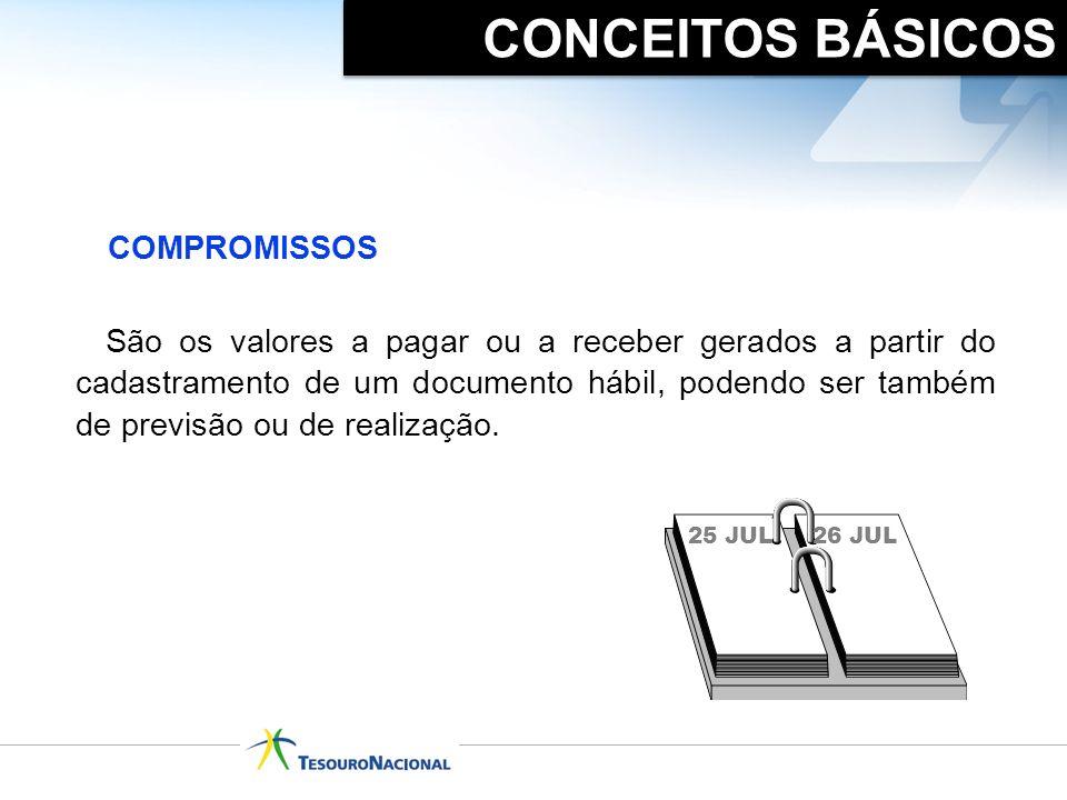 CONCEITOS BÁSICOS COMPROMISSOS.