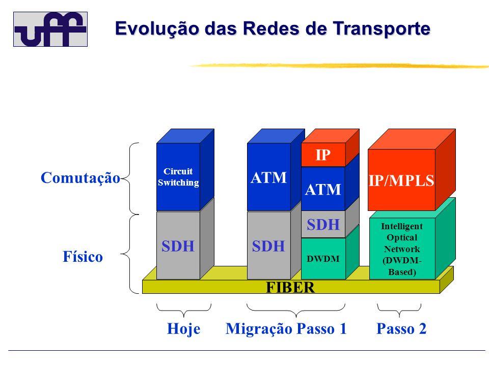Evolução das Redes de Transporte