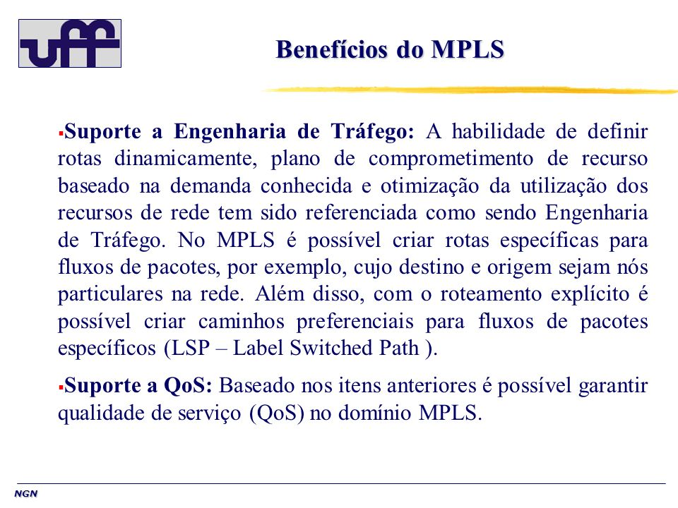 Benefícios do MPLS