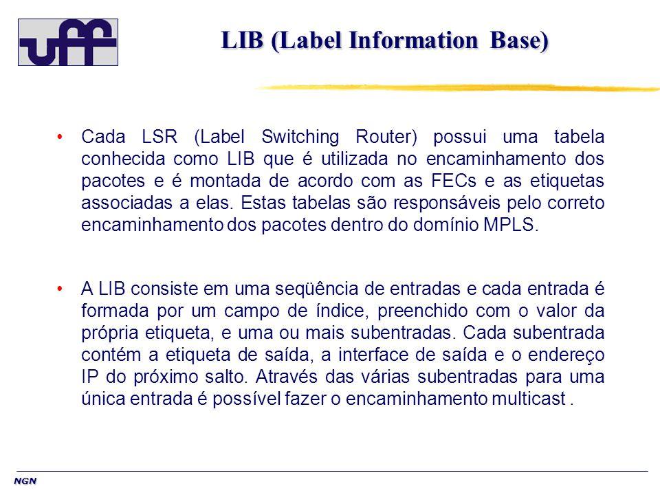 LIB (Label Information Base)