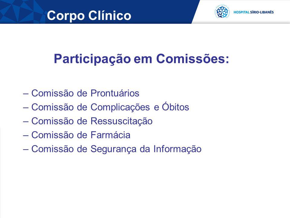 Participação em Comissões: