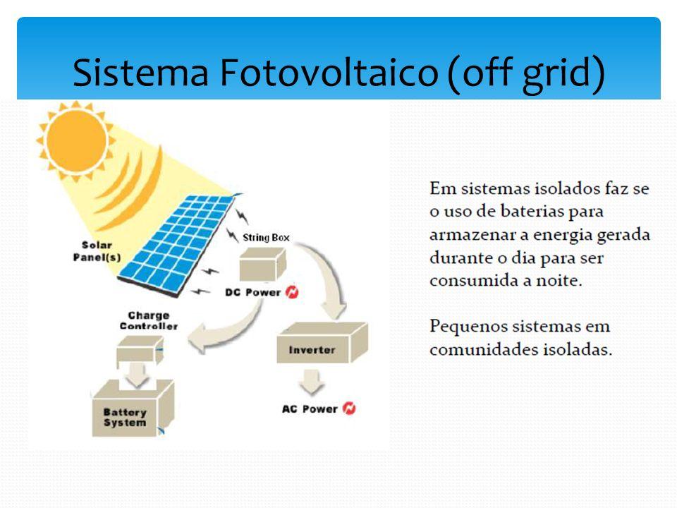 Sistema Fotovoltaico (off grid)