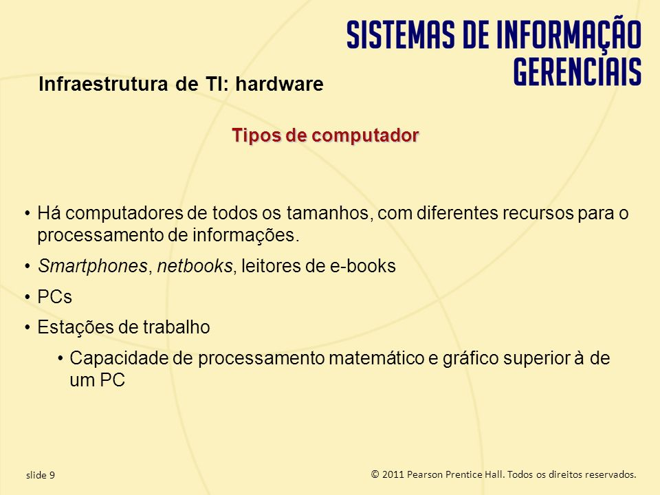 Infraestrutura de TI: hardware