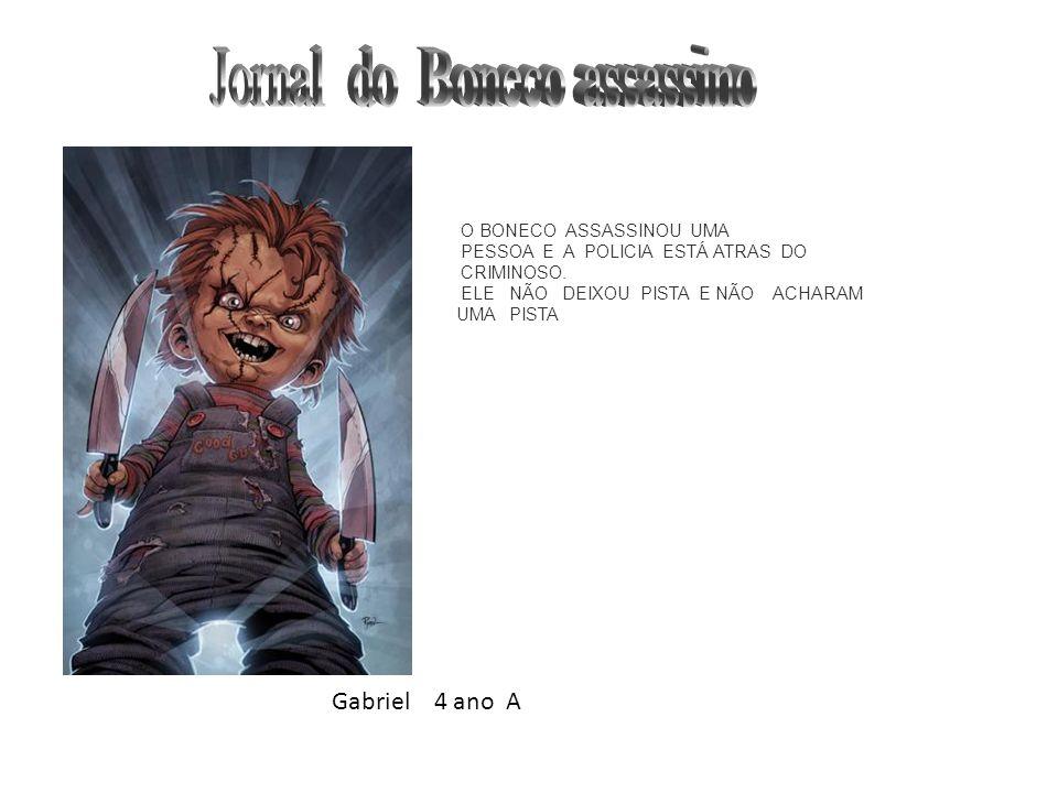 Jornal do Boneco assassino