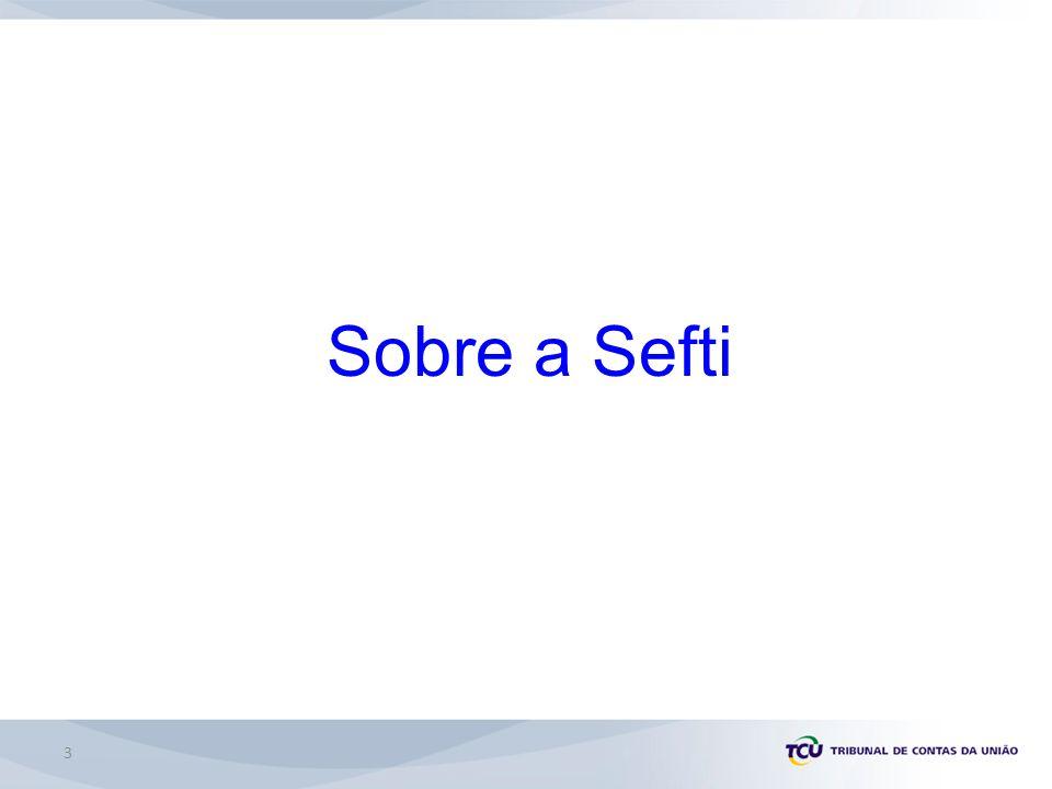 Sobre a Sefti