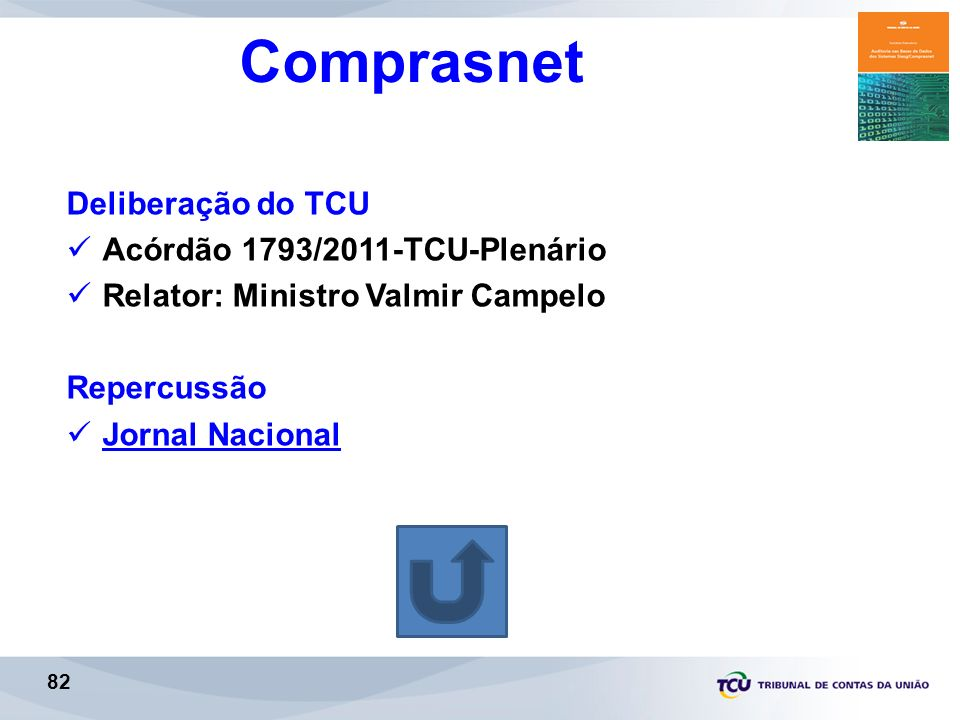 Comprasnet Deliberação do TCU Acórdão 1793/2011-TCU-Plenário