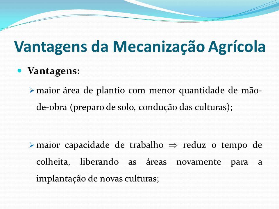 Vantagens da Mecanização Agrícola