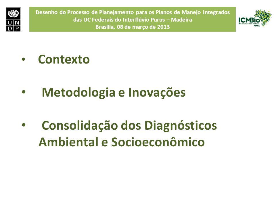 Metodologia e Inovações