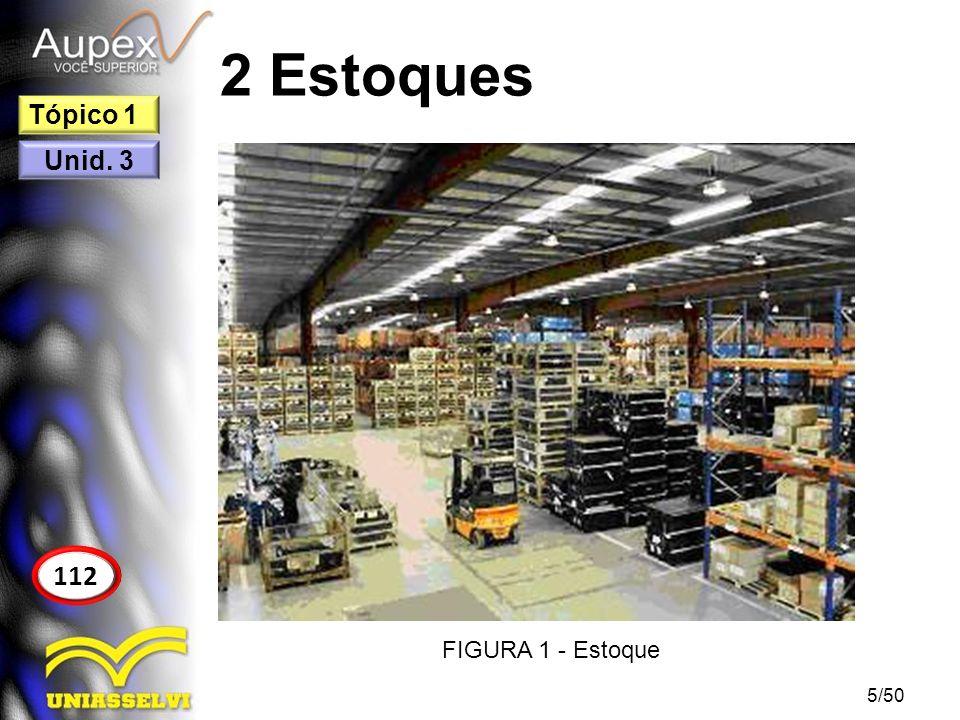 2 Estoques Tópico 1 Unid. 3 112 FIGURA 1 - Estoque 5/50