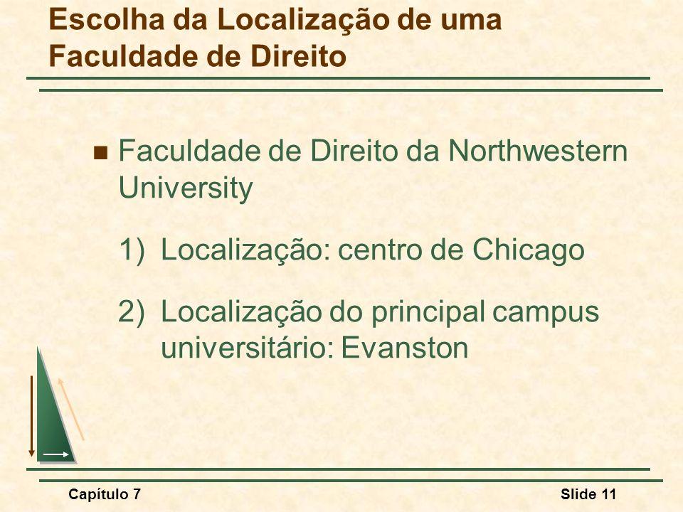 Escolha da Localização de uma Faculdade de Direito