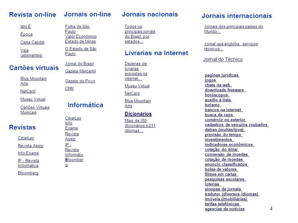 Jornais internacionais