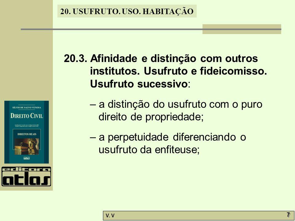 20. 3. Afinidade e distinção com outros institutos