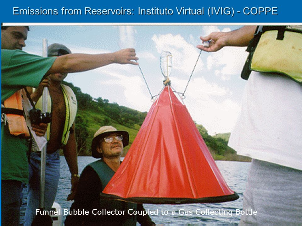 Emissions from Reservoirs: Instituto Virtual (IVIG) - COPPE