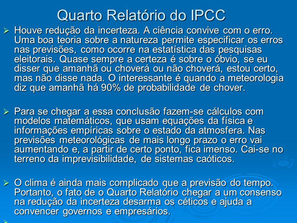 Quarto Relatório do IPCC
