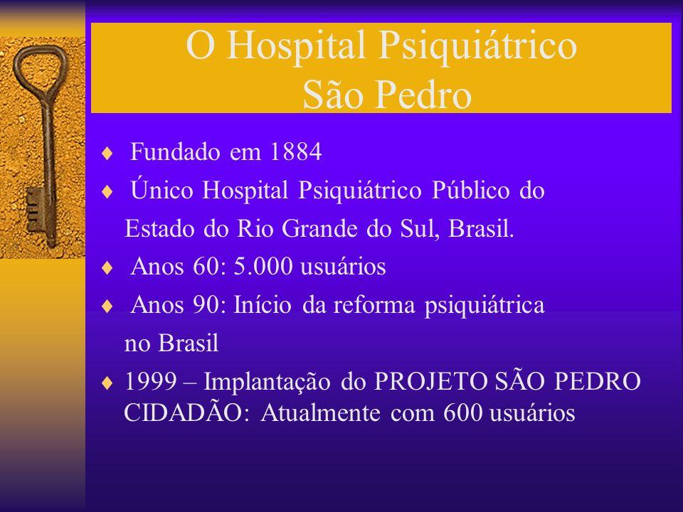 O Hospital Psiquiátrico São Pedro