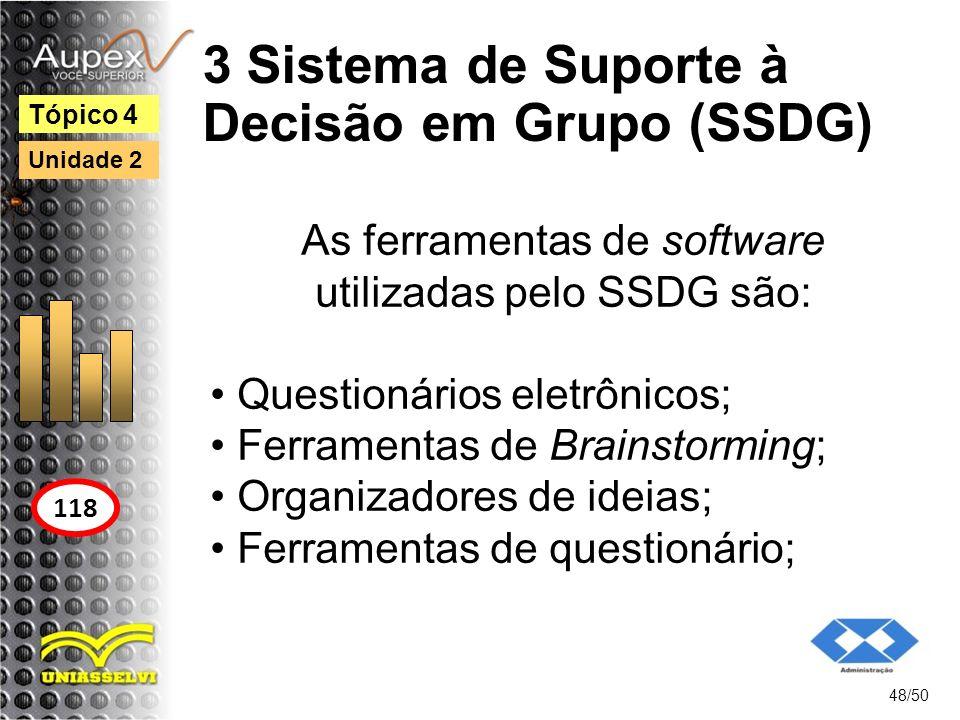 3 Sistema de Suporte à Decisão em Grupo (SSDG)