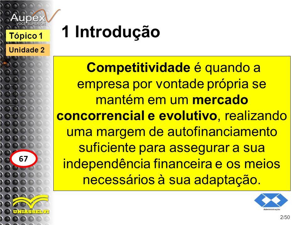 1 Introdução Tópico 1. Unidade 2.