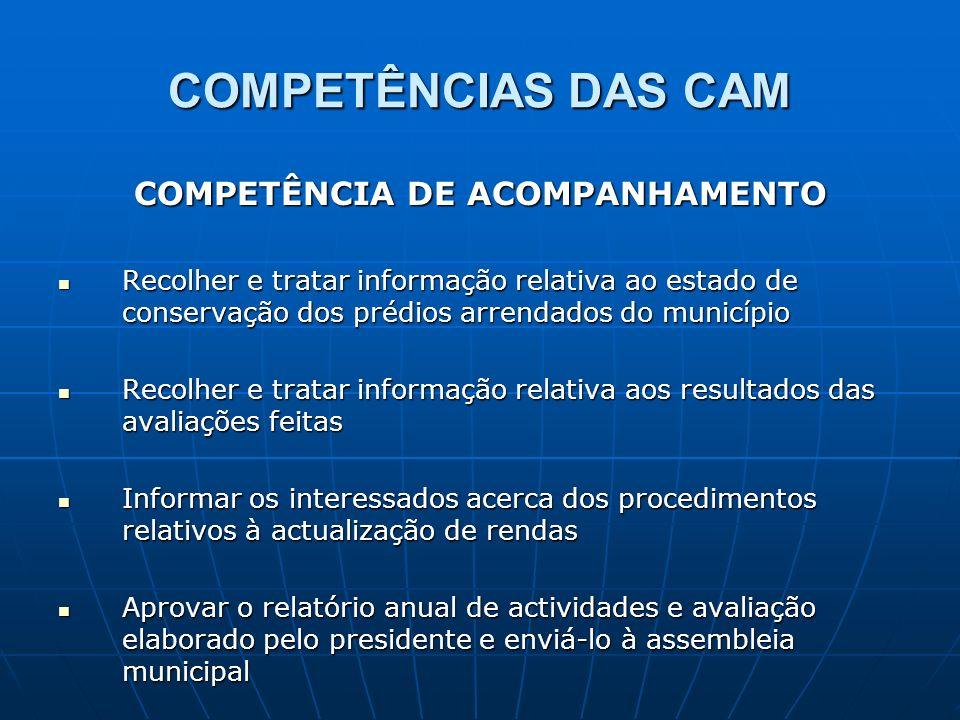 COMPETÊNCIA DE ACOMPANHAMENTO