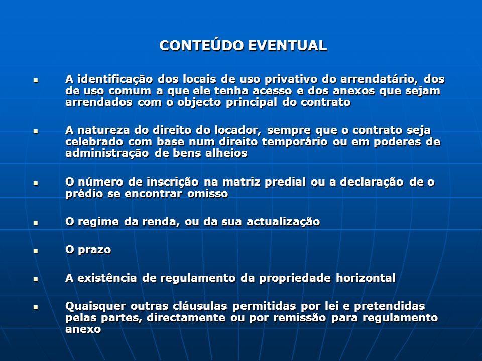 CONTEÚDO EVENTUAL