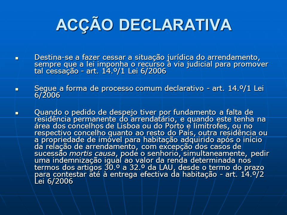 ACÇÃO DECLARATIVA