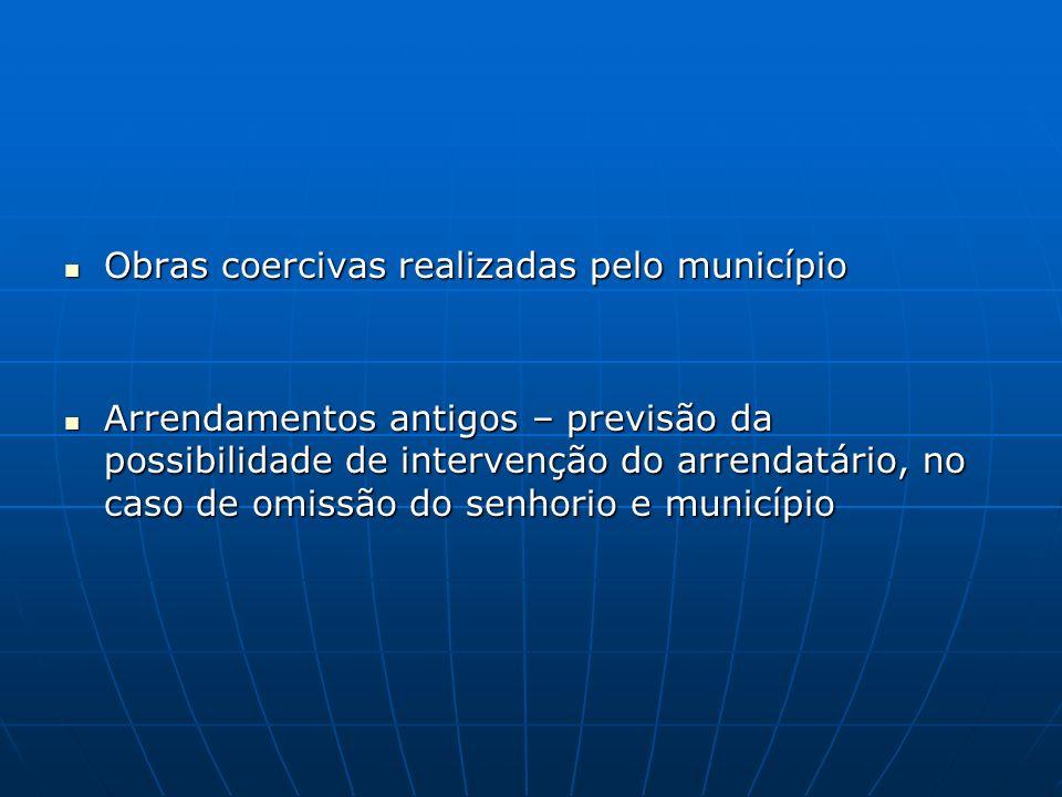 Obras coercivas realizadas pelo município