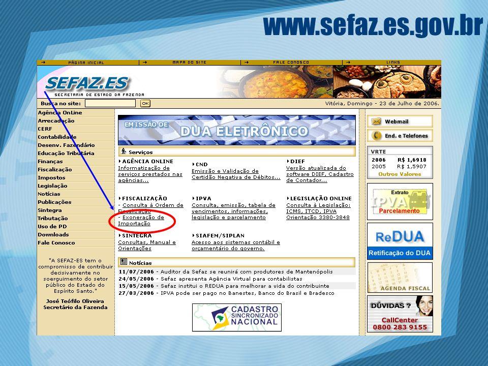 www.sefaz.es.gov.br