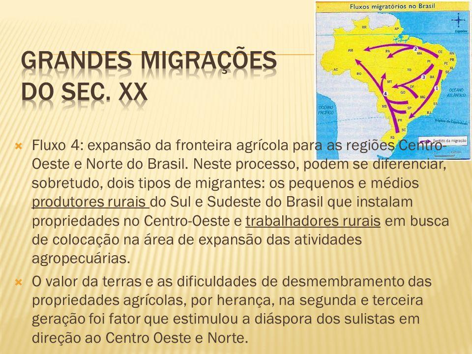 Grandes migrações do sec. xx