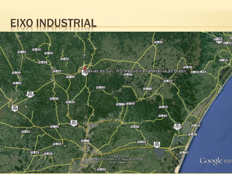 Eixo industrial