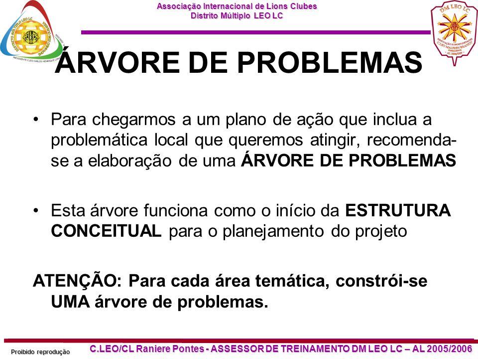 ÁRVORE DE PROBLEMAS