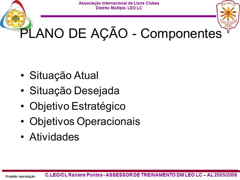 PLANO DE AÇÃO - Componentes