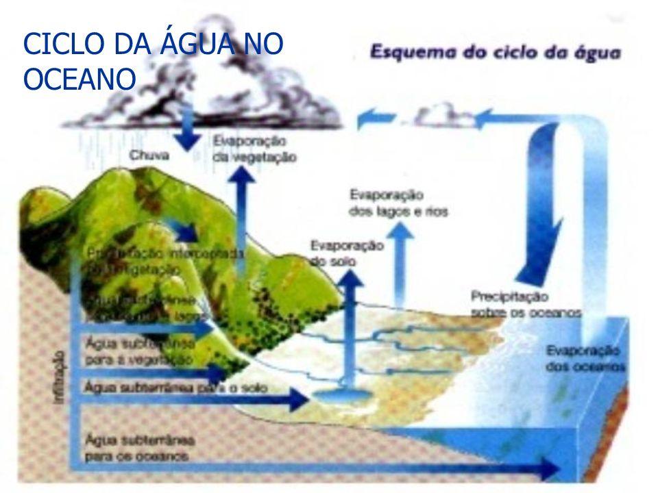 CICLO DA ÁGUA NO OCEANO