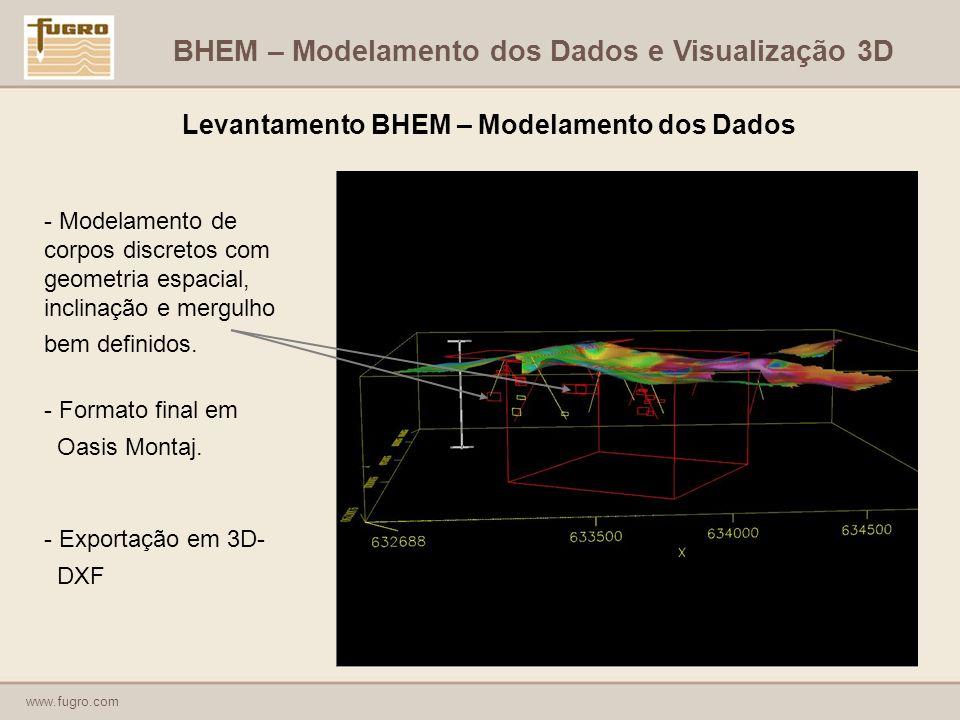 Levantamento BHEM – Modelamento dos Dados